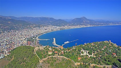 Villas in Alanya City Center