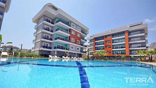 Apartments in Alanya with Swimming Pool