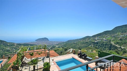 Villas in Alanya Turkey