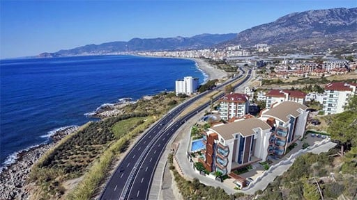 Apartments in Alanya Kargıcak for Sale