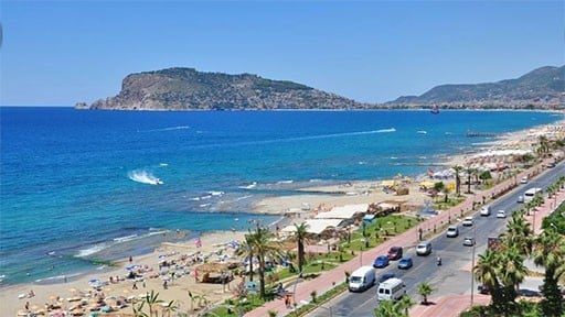 Apartments in Alanya Oba for Sale