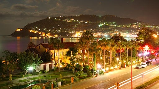 Alanya City by Night