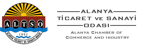 Member of ALTSO - Alanya Chamber of Commerce and Industry