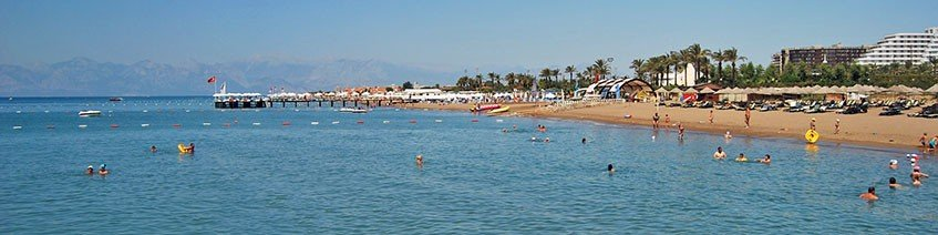 Beautiful Beaches in Belek