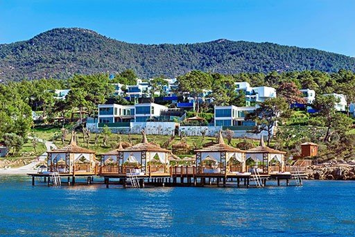 Luxury Seafront Villas in Bodrum