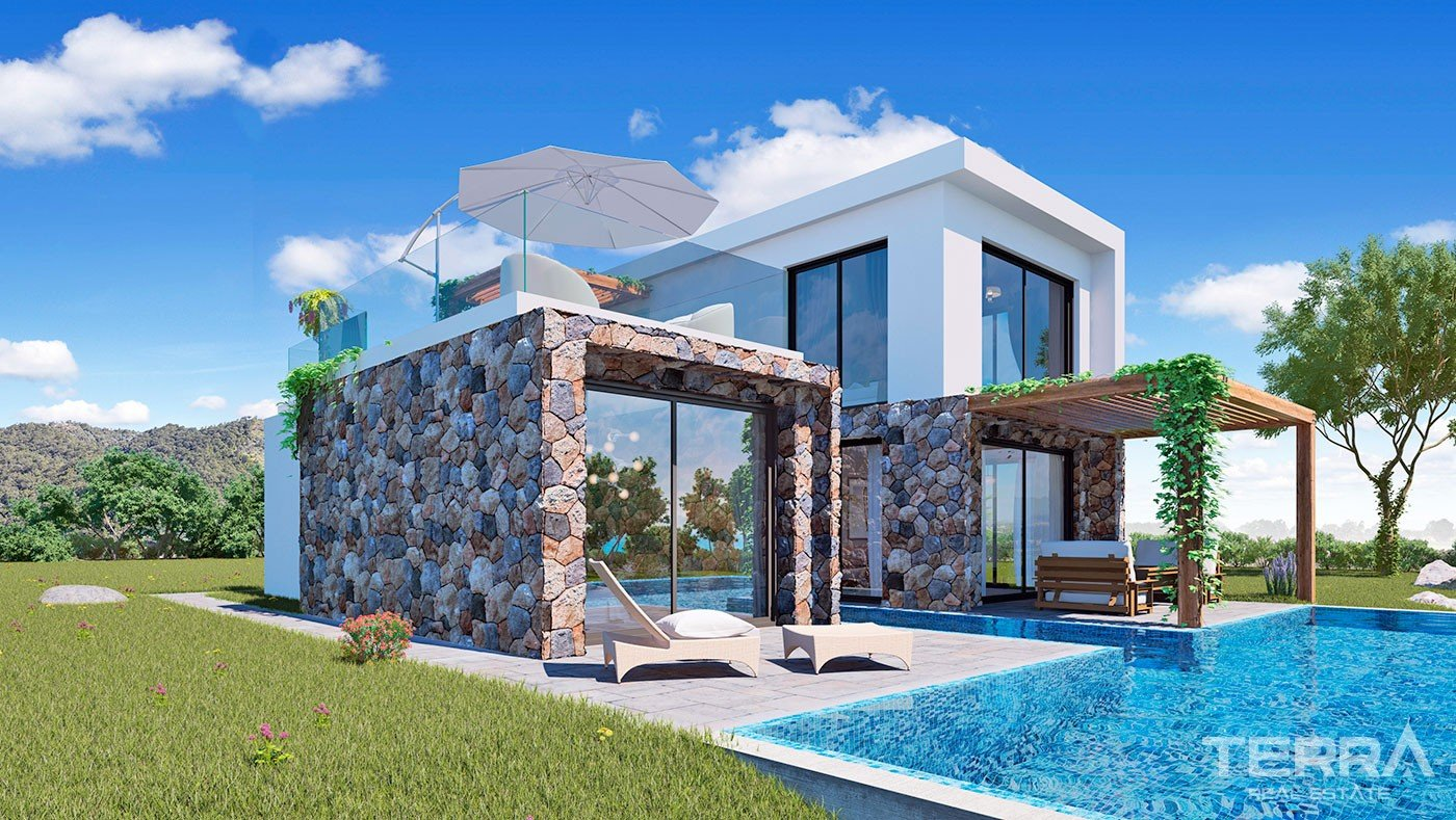 Seafront Houses Near to Luxury Golf Course in Kyrenia Riviera