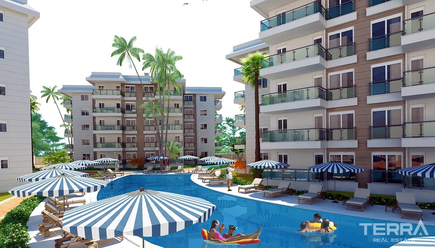Affordable Antalya Flats for Sale with only 1 km to Konyaaltı Beach