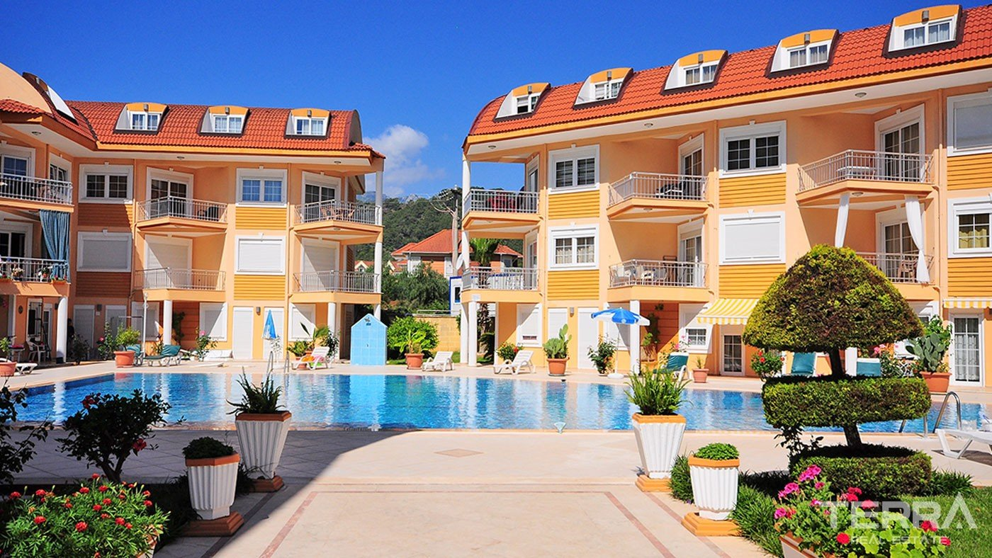 Penthouse Apartment for Sale in Kemer with Taurus Mountain View