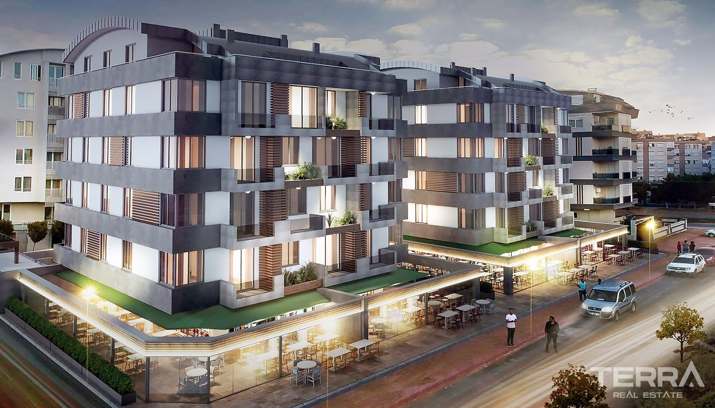 Contemporary Antalya Apartments Located 1,5 km from Konyaaltı Beach