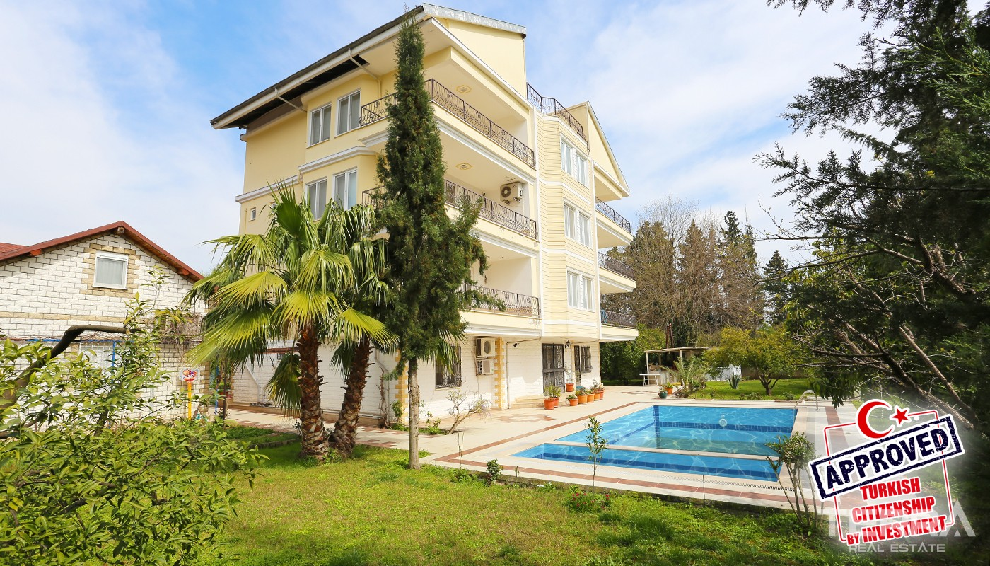 Nature-view Villas with Private Pool & Garden in Konyaaltı Antalya