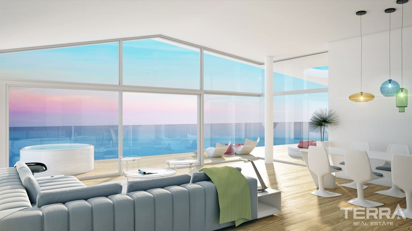 Uniquely Designed Sea View Penthouse Apartments in Fuengirola Málaga