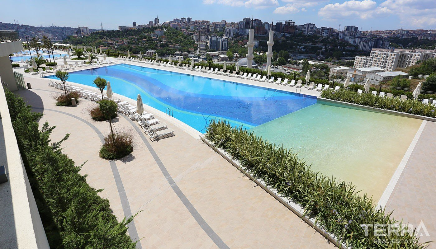 Family-oriented Apartments in Eyüp Istanbul with Rich Social Facilites