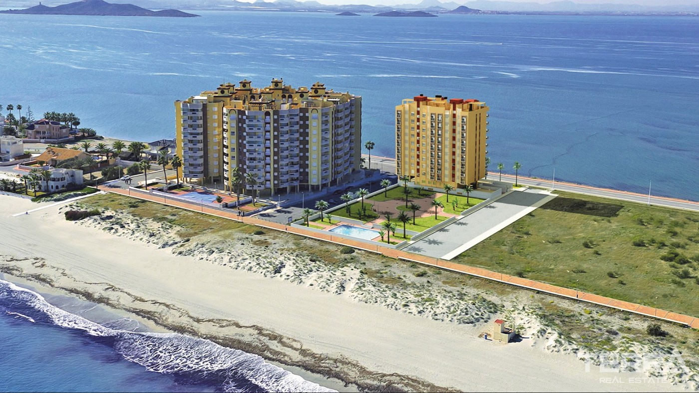 Seafront Apartments Between Two Seas in La Manga