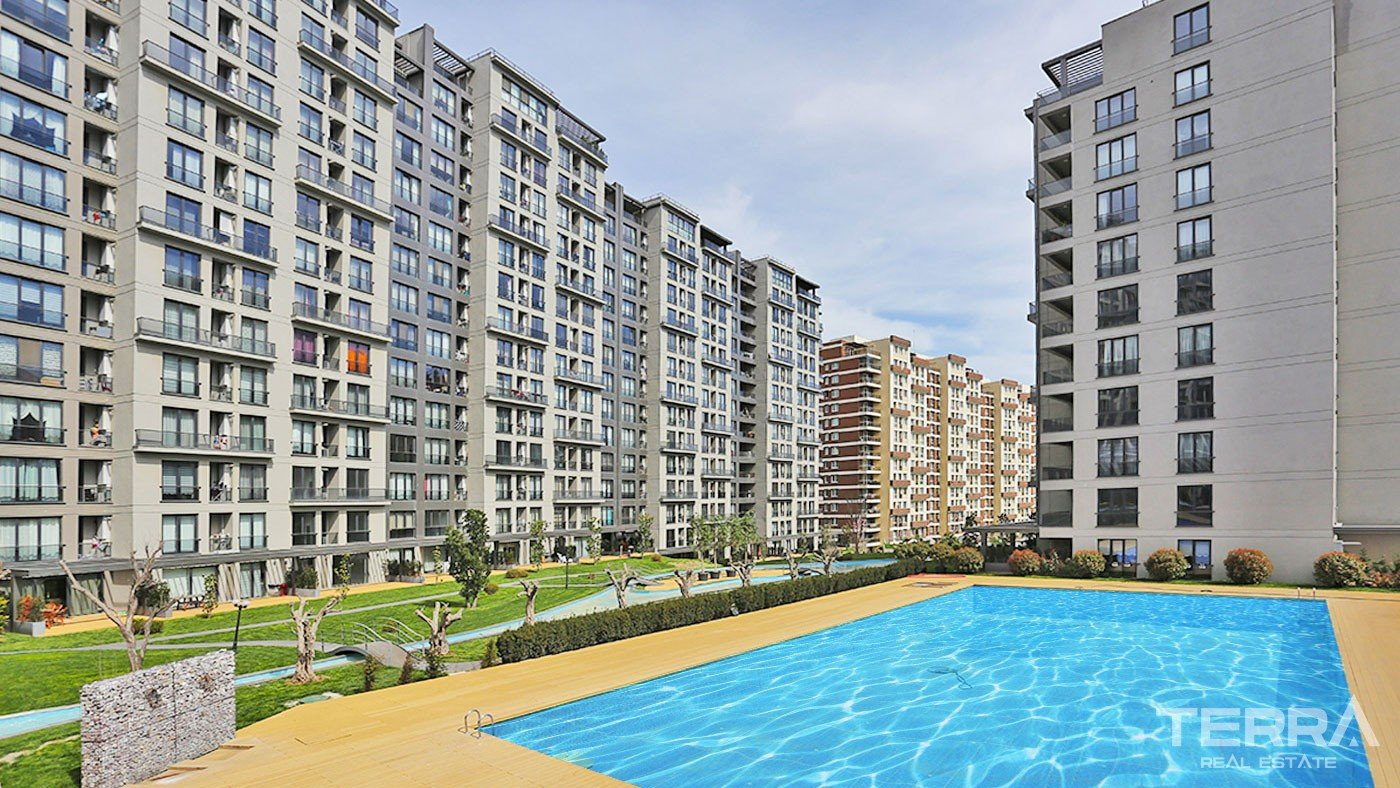 Family Apartments in Istanbul Esenyurt Situated in a Developed Complex