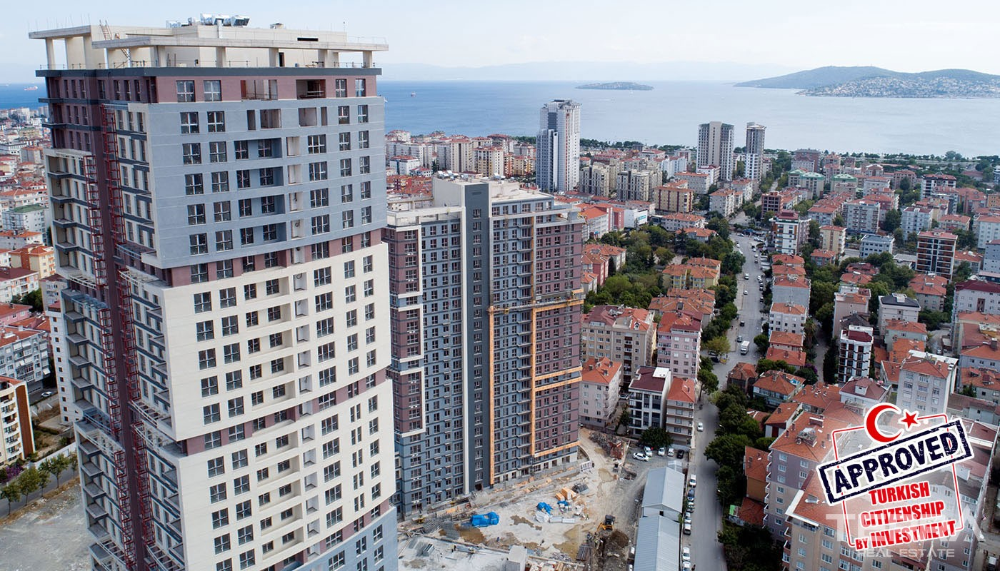 Marmara Sea & Island View Apartments Located in Kartal Istanbul