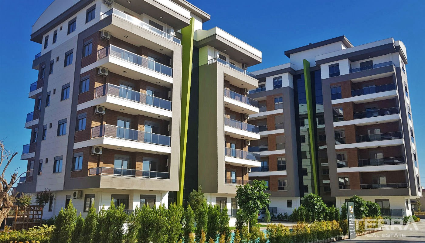 Family-concept Apartments in Antalya Kepez Surrounded by Amenities