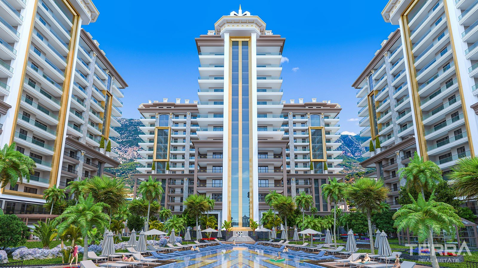 Exclusive Apartments for Sale in Alanya With Rich Social Facilities