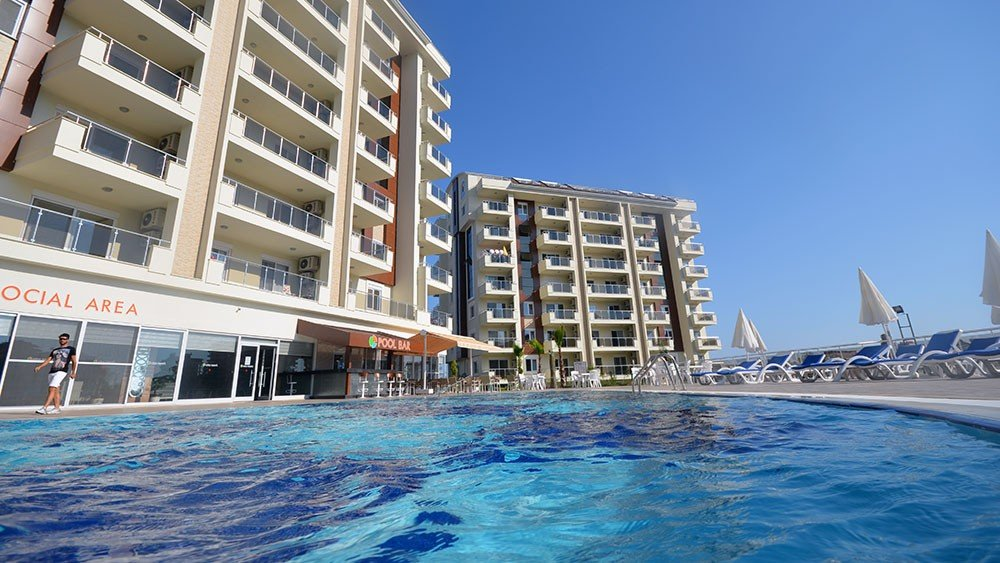 Affordable apartments for sale in Avsallar Alanya