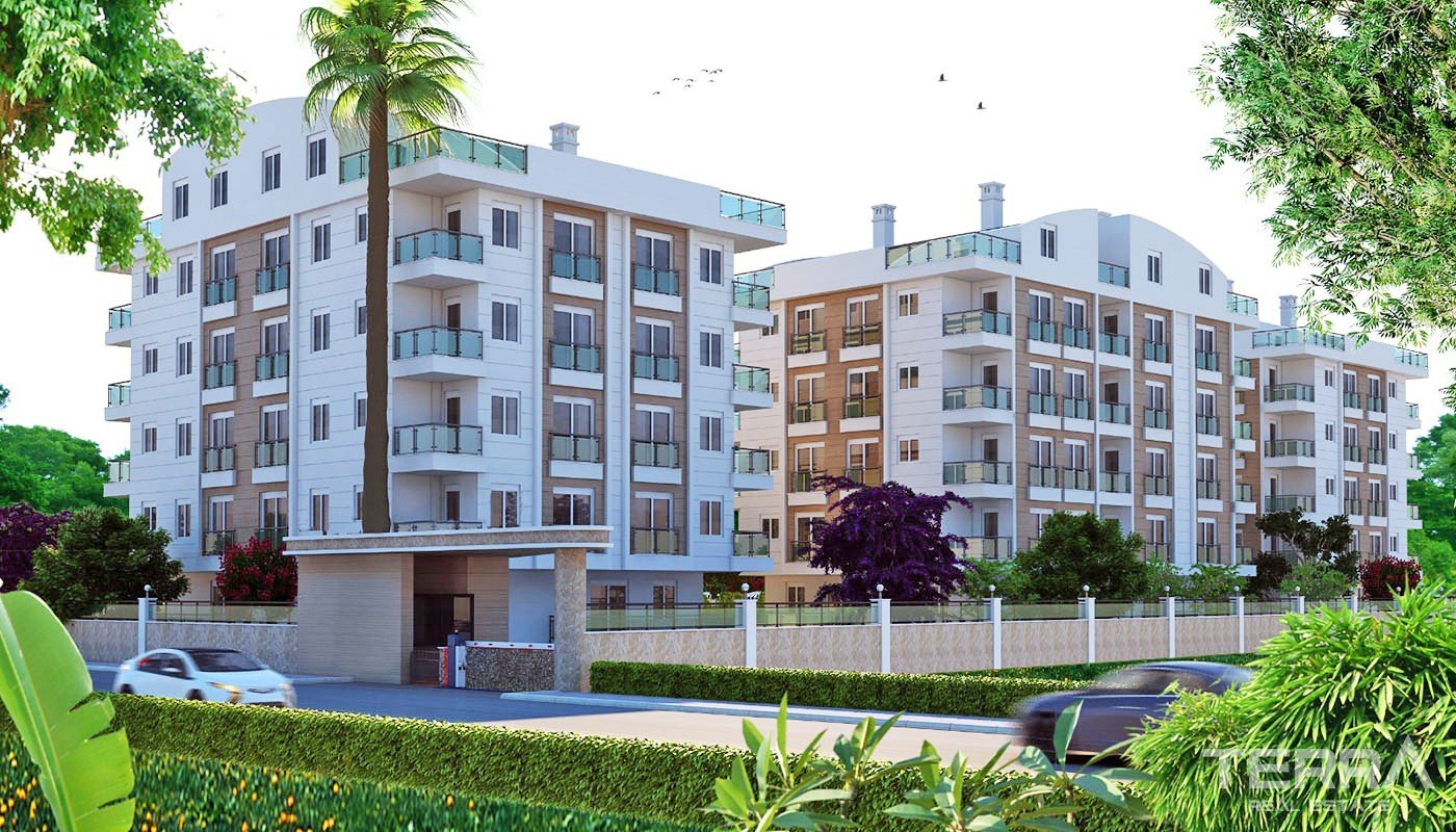 New Antalya Flats for Sale with Prime Location in Konyaaltı