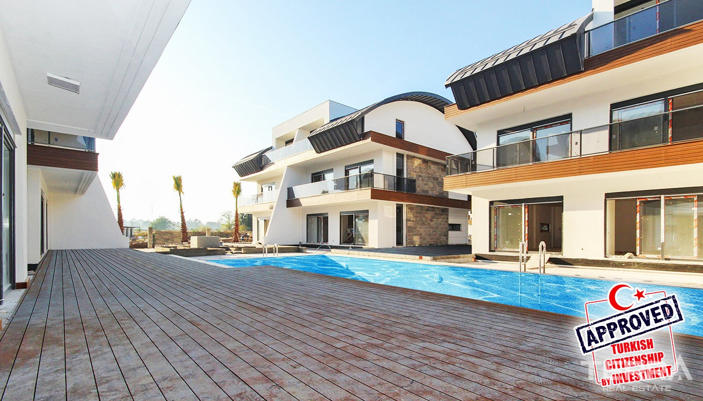 Luxury Villas for Sale in Antalya Konyaaltı Surrounded by Amenities