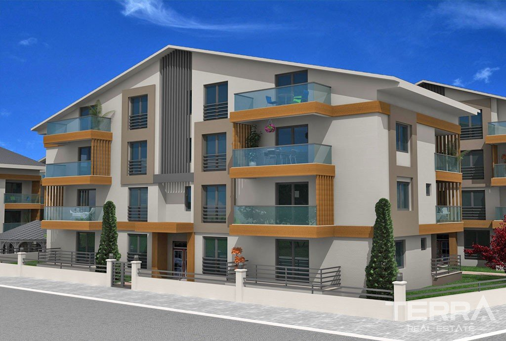 Affordable Apartments For Sale in Center of Fethiye Taşyaka District