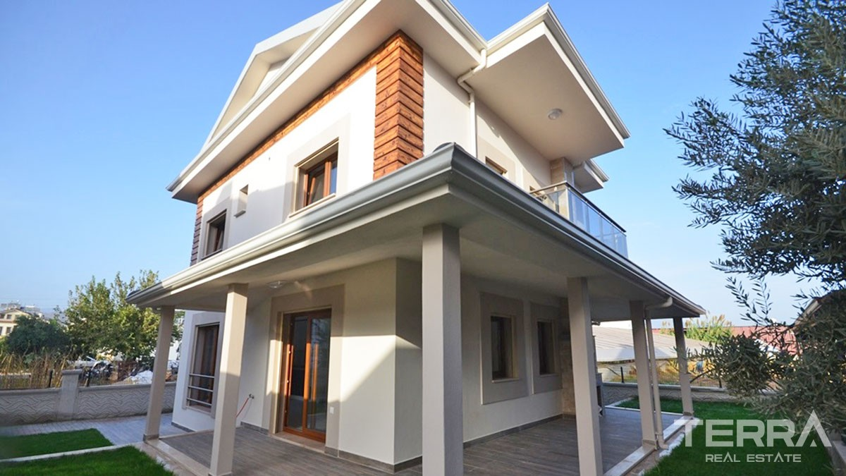 Brand-New Spacious Villa with Nice Garden for Sale in Fethiye Town