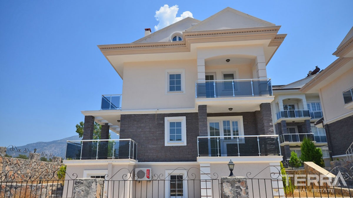Key-Ready Luxury Villa with Private Pool For Sale In Hisarönu Fethiye