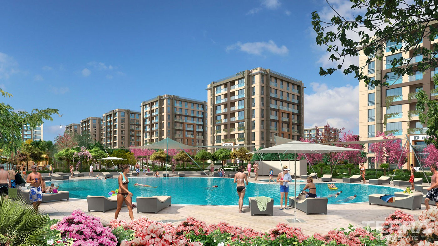 New Comfortable Apartments for Sale in Beylikdüzü Istanbul