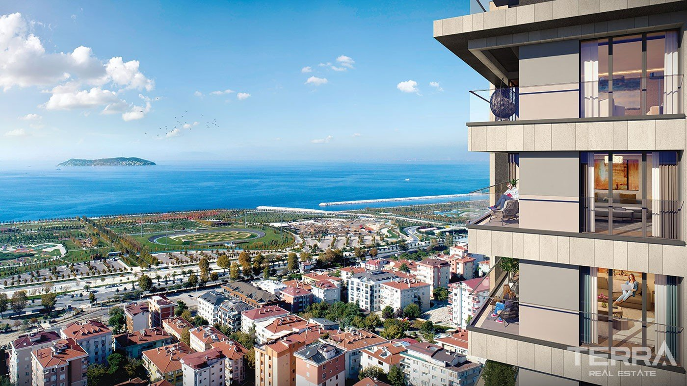 Magnificent Sea View Apartments for Sale in Maltepe Istanbul
