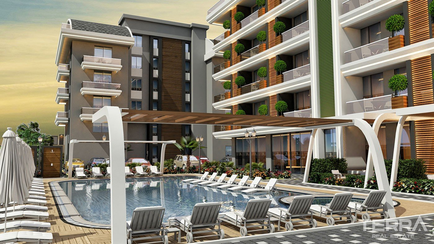 Affordable Apartments within Walking Sea Distance to Buy in Oba Alanya