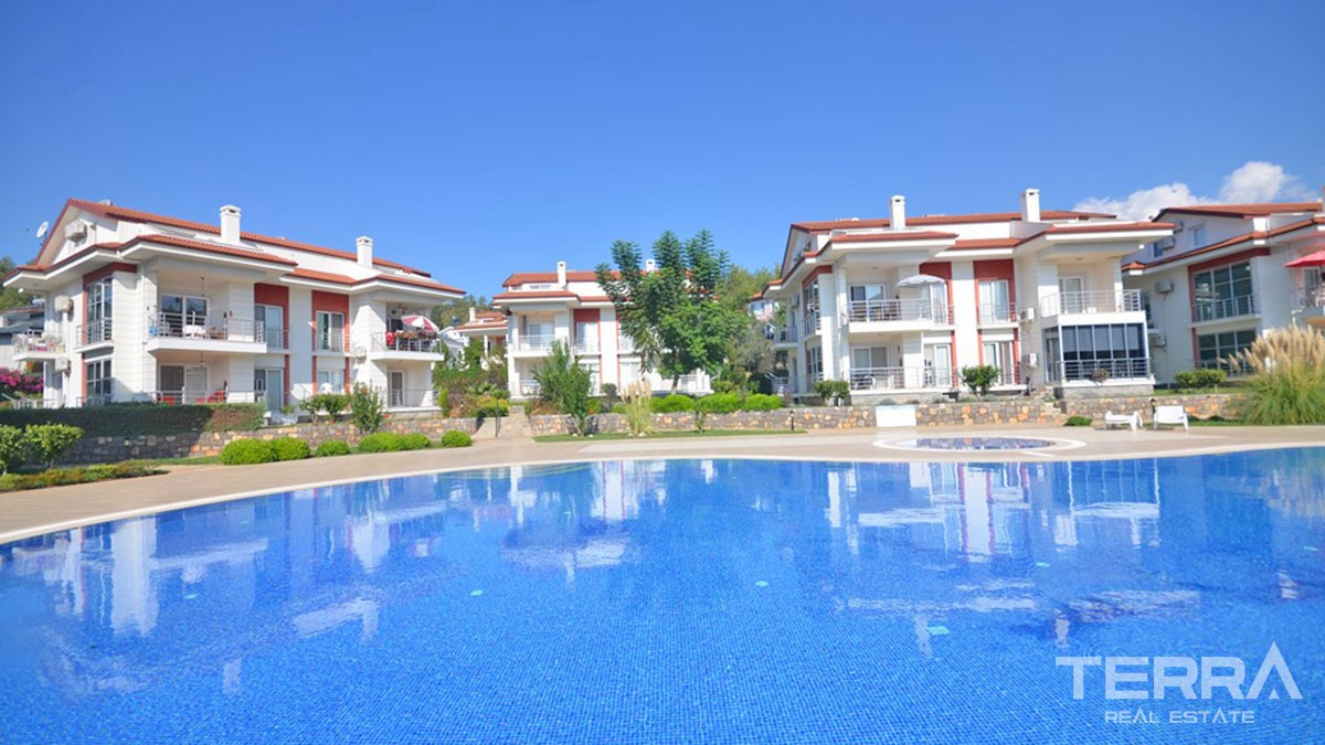 Resale Fully Furnished Flat in a Fantastic Location of Çalış Fethiye