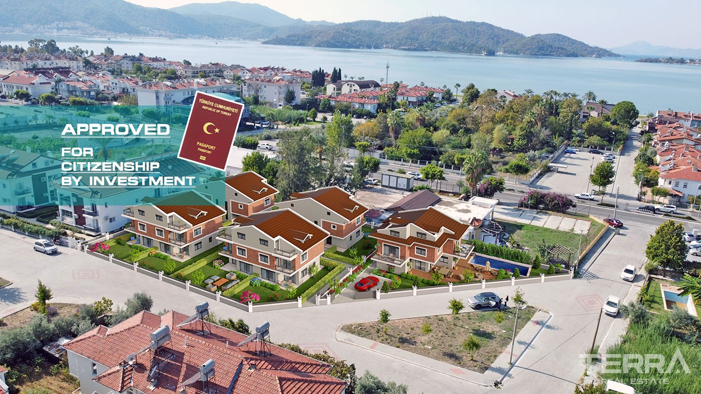 New Villas for Sale within Walking Sea Distance in Fethiye City Centre