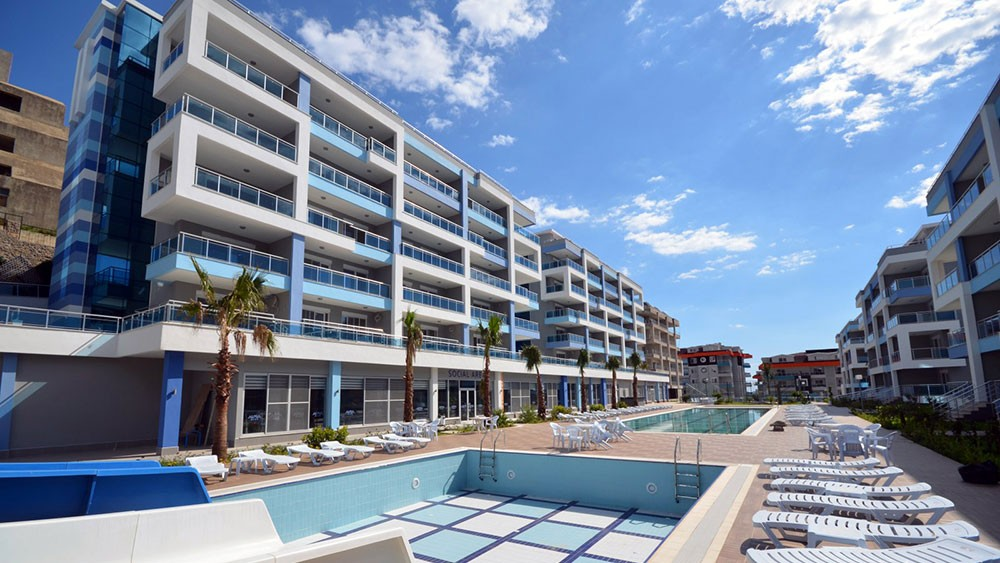 Aura Blue Apartments in Kestel Alanya for sale