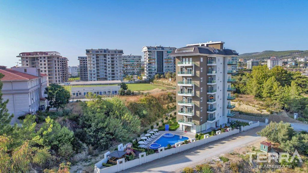 Affordable Apartments with Facilities for Sale in Avsallar Alanya