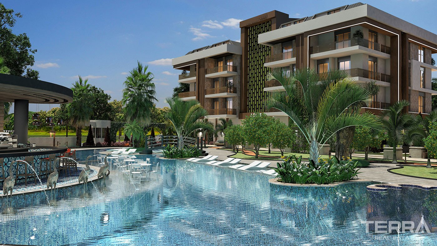 New Apartments to Buy in Alanya Oba Close to the Beach & Shopping Mall
