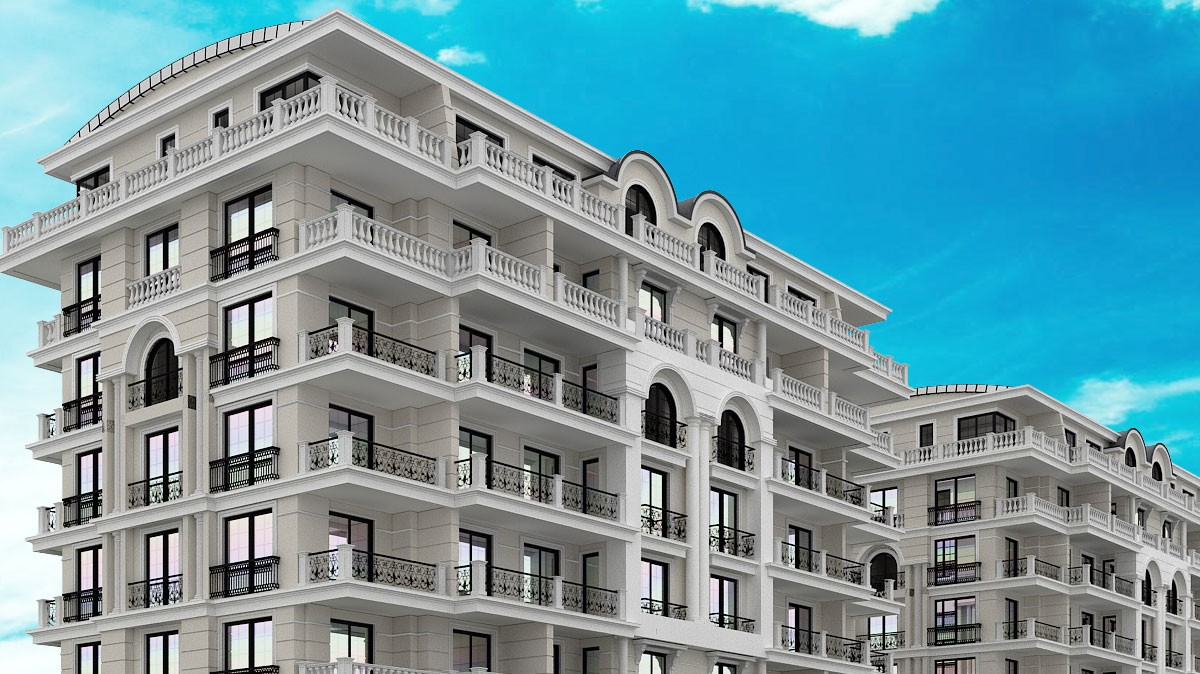 Exclusive apartments for sale in Alanya City Centre