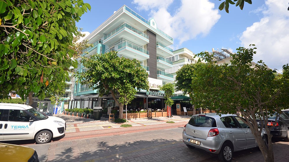 Seafront Apartments for Sale at Cleopatra Beach in Alanya