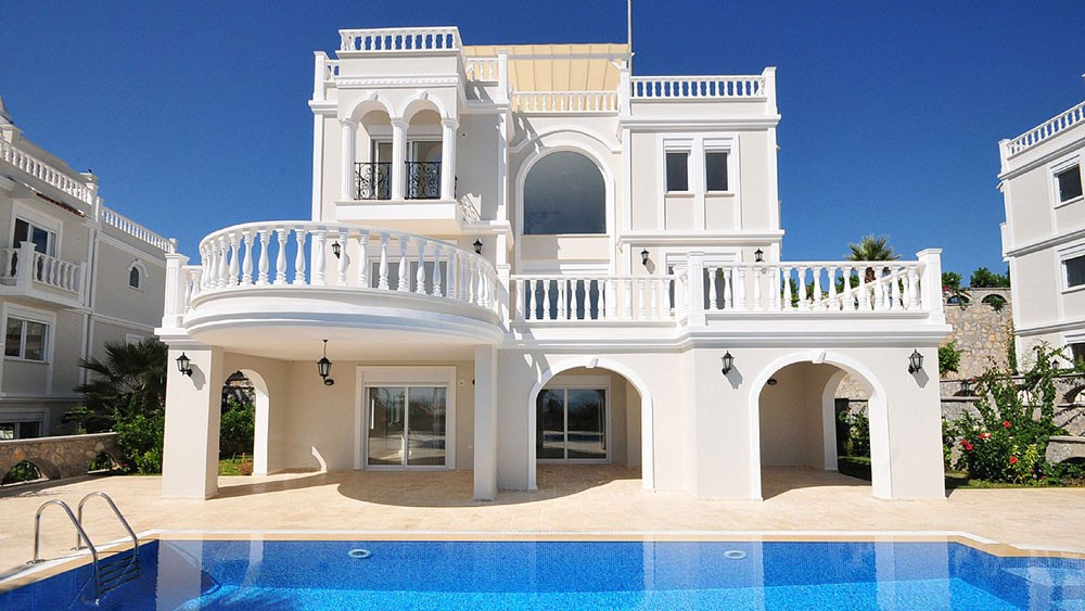Exclusive detached villas in Alanya