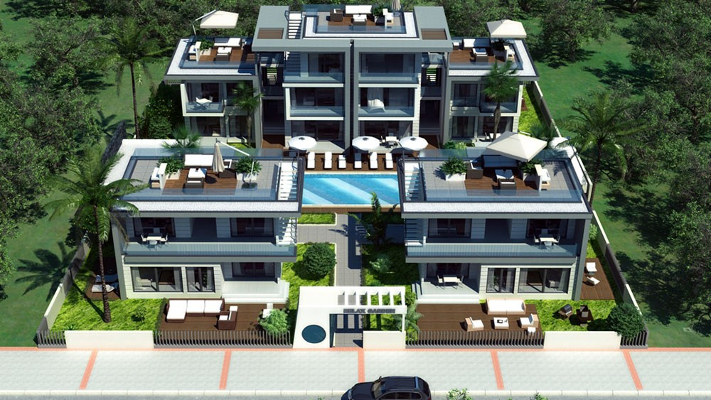Apartments and villas in central Side, Turkey