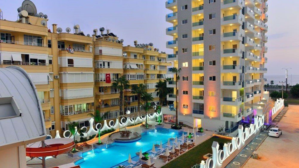Queen Residence seafront apartments in Mahmutlar, Alanya