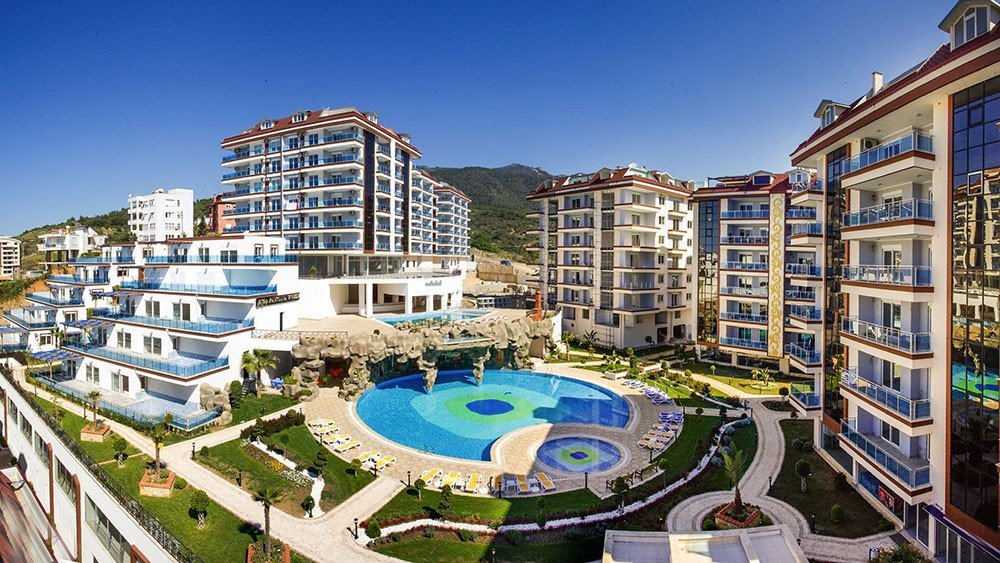 Another World Apartments for sale in Alanya