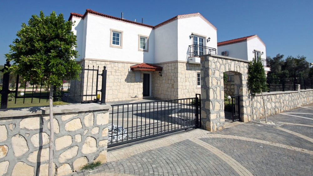 Stylish and traditional Turkish stone villas in Side Turkey