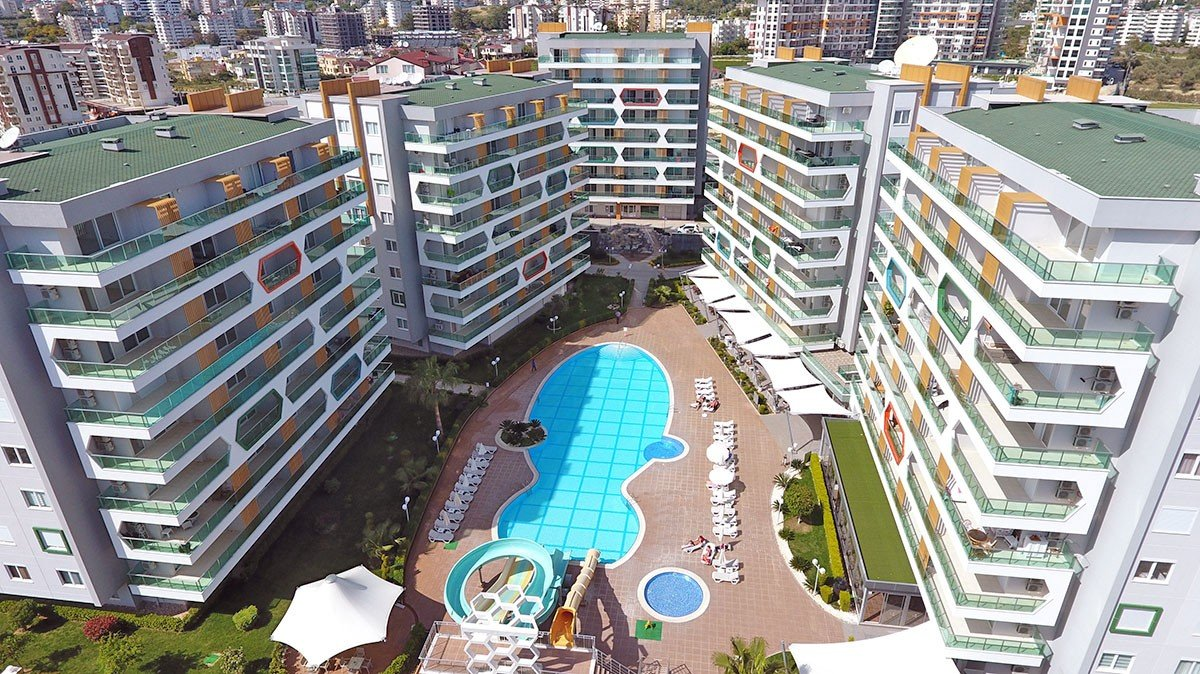 Emerald Park - High Quality Apartments for sale in Avsallar Alanya