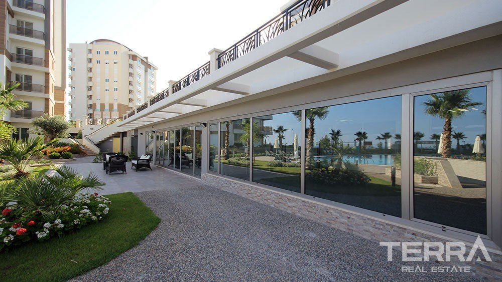 Düden Park luxury apartments at a prime location in Antalya