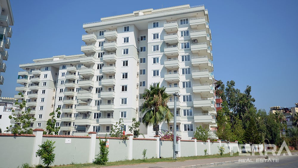 Spacious apartments in Alanya with superb location