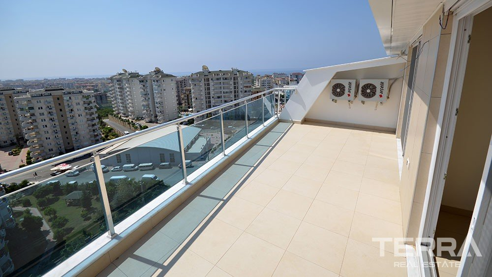 Crystal Garden Apartments in Cikcilli, Alanya