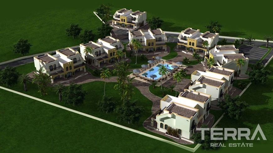 The Residence townhouses for sale in Kyrenia, Cyprus