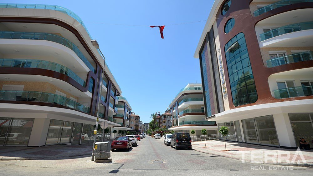 Exclusive apartments for sale near Cleopatra Beach in Alanya