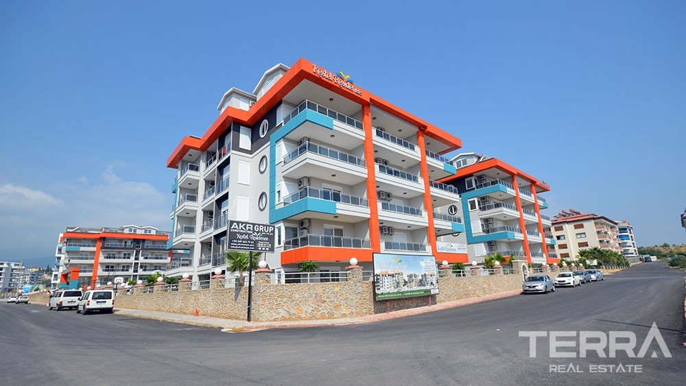 Kestel Residence, sea view apartments in Kestel, Alanya