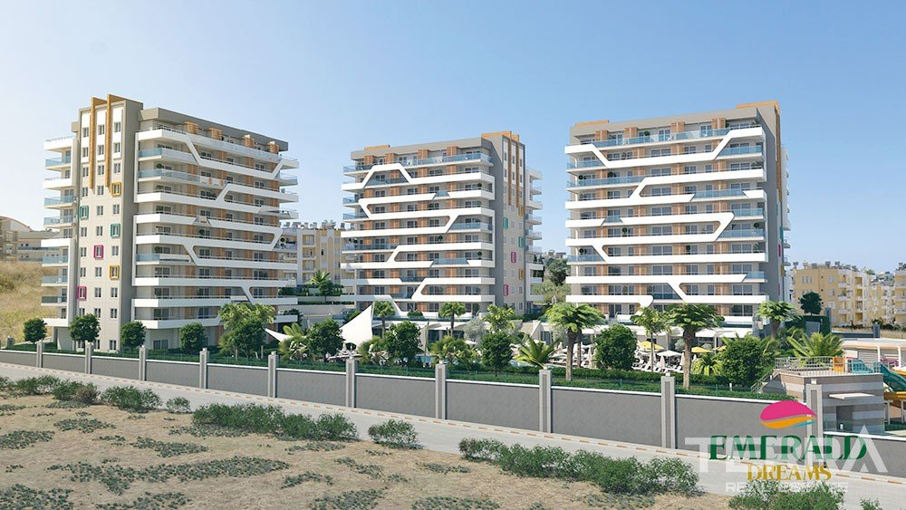 Emerald Dreams Luxury Apartments in Avsallar Alanya